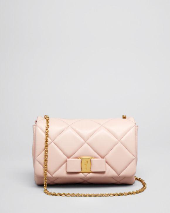 786f869a9981 Salvatore Ferragamo Mini Bag - Soft Quilted Miss Vara Bow ...