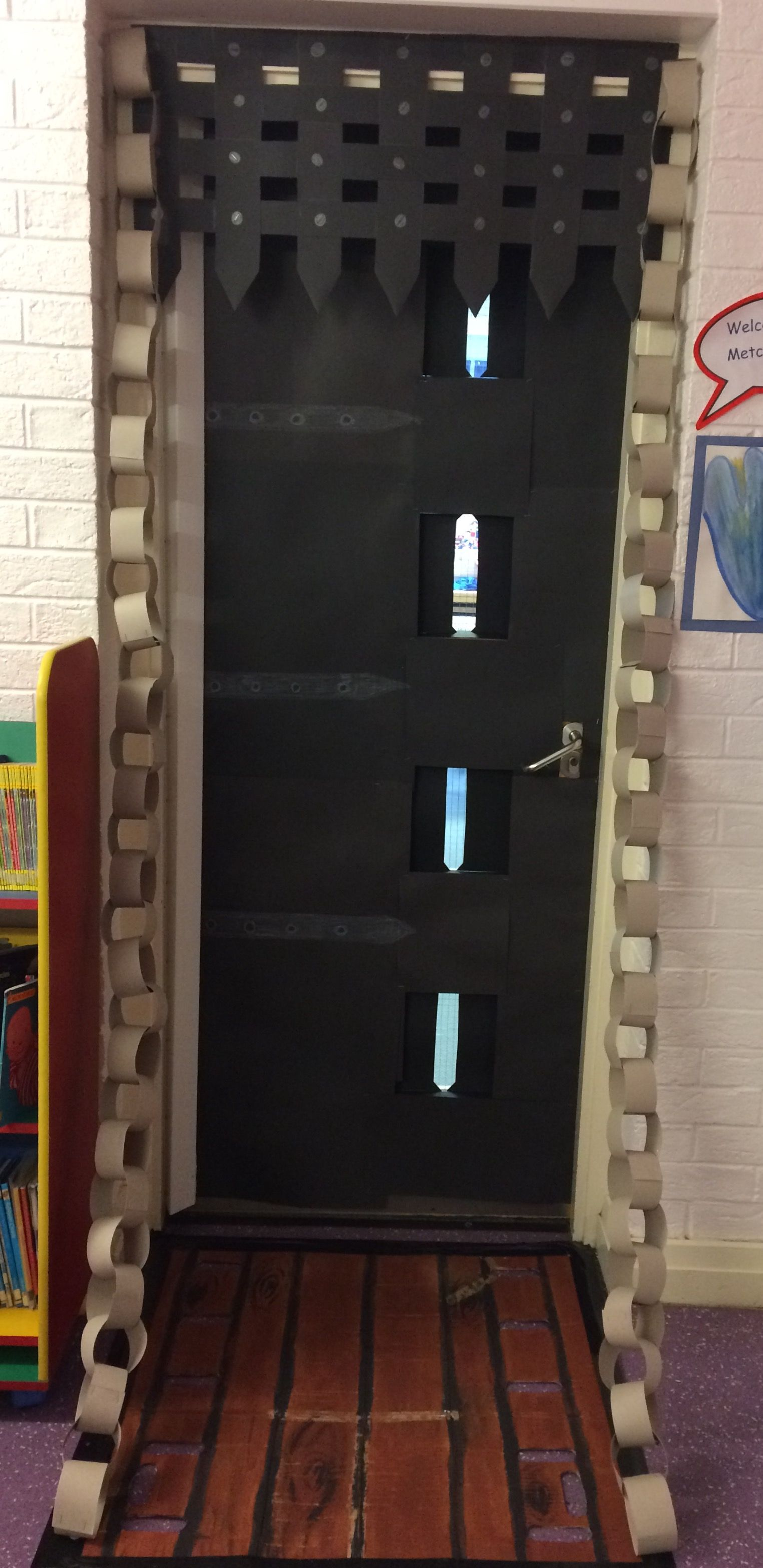 Classroom Door For Castles Topic
