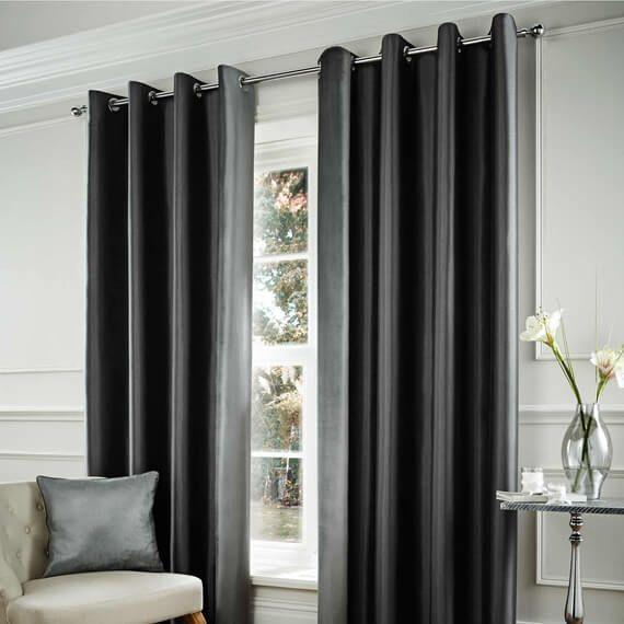 Elegant Room · Image Result For Charcoal Silk Curtains For Living Room