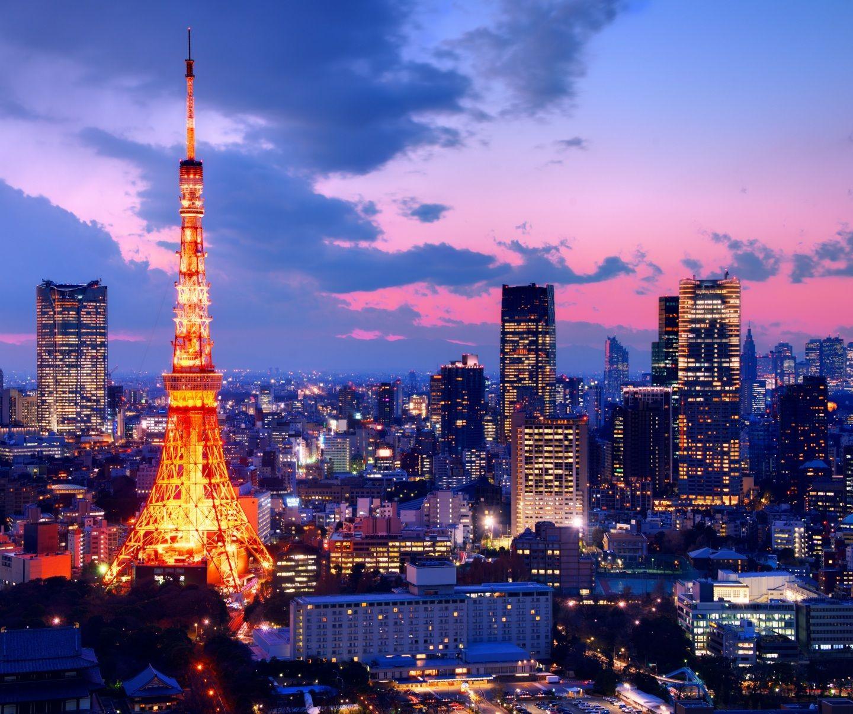 Tokyo Tower Wallpaper Токио япония, Скайлайн