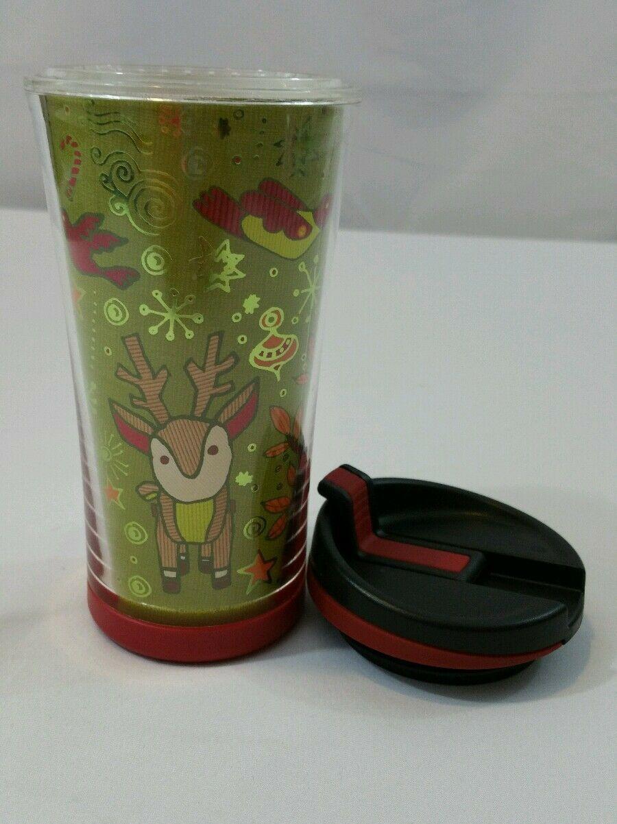 Starbucks Christmas 2008 Kids Hot Tumbler Cup To Go Travel