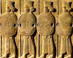 Guerreiros Persas Fenicios Arte Persa Persas