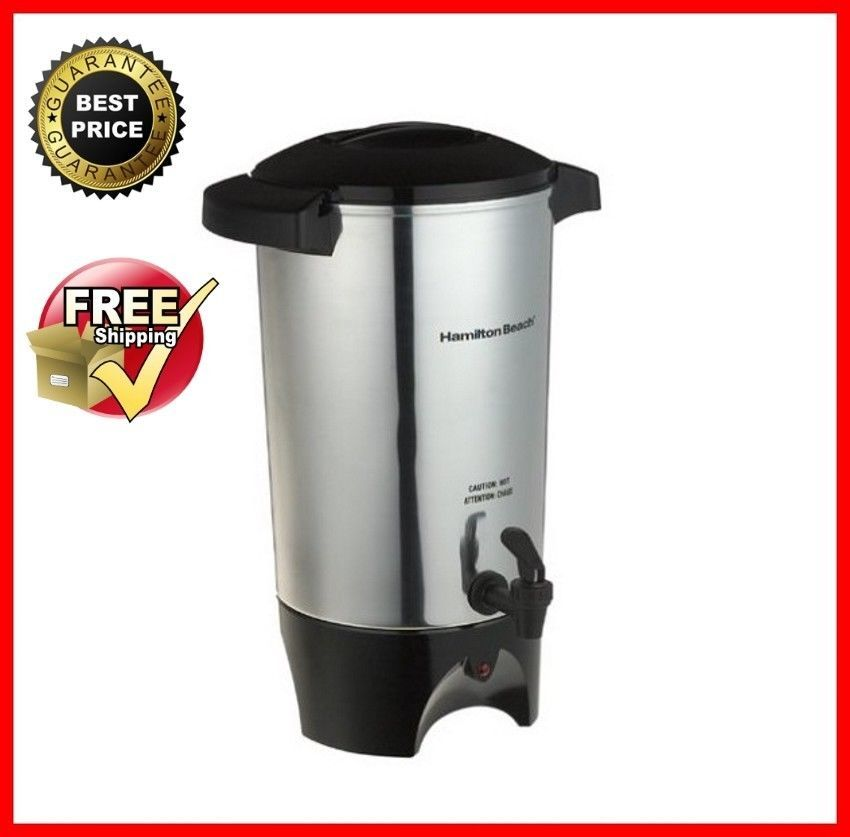 Coffee Pot Maker Large 42 Cup Coffee Urn Industrial Commercial Makes 12 42 Cups Hamiltonbeach Coffee Urn Hot Beverage Dispenser Drink Dispenser