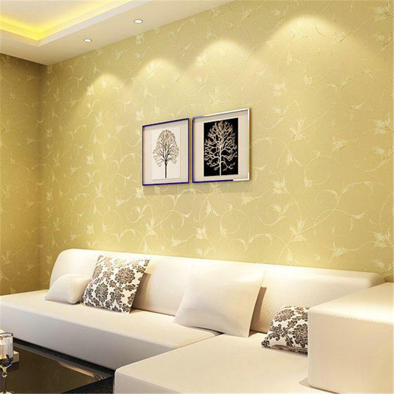 beibehang foil 3D wallpaper roll non-woven wallpaper for living room ...