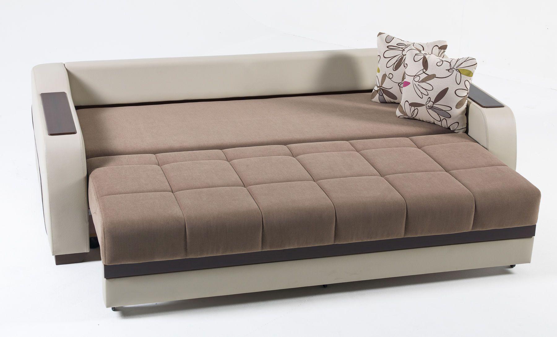 Ultra Brown Sofa In 2020 Modern Sleeper Sofa Best Sleeper Sofa