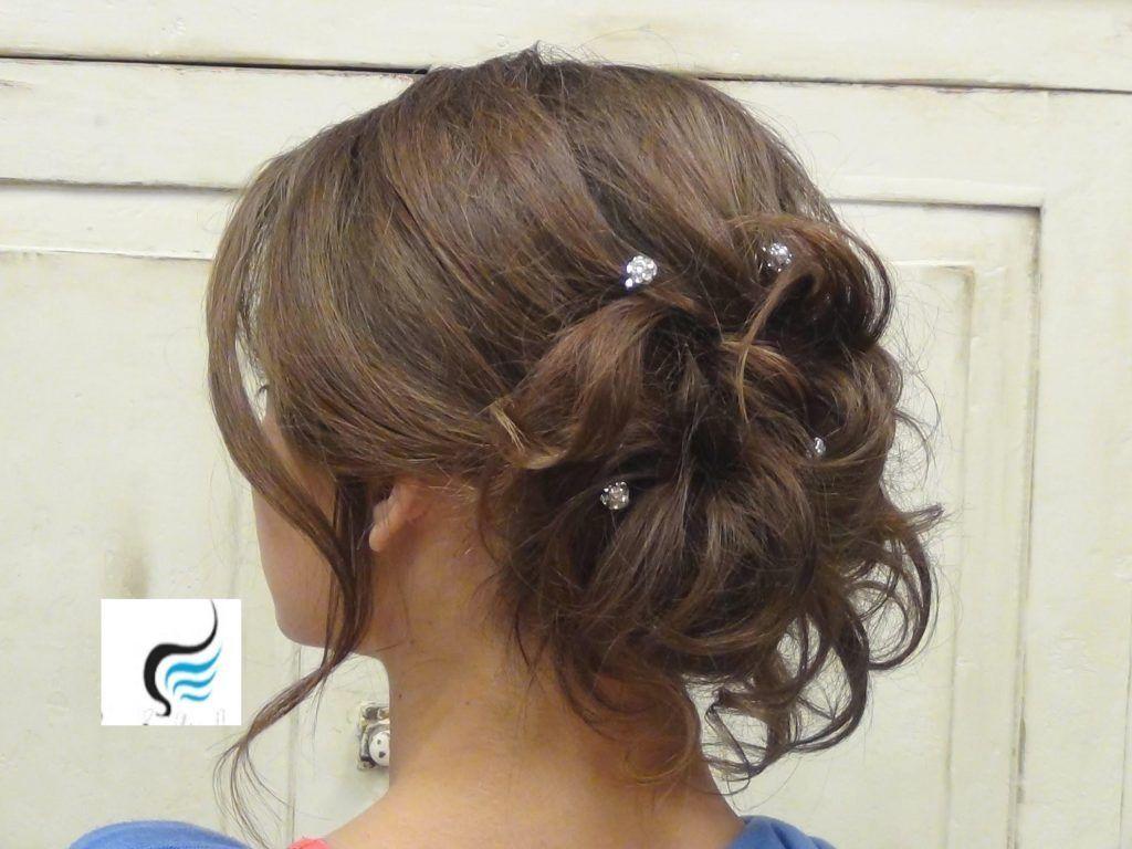 Pin Auf Hochzeit Frisur