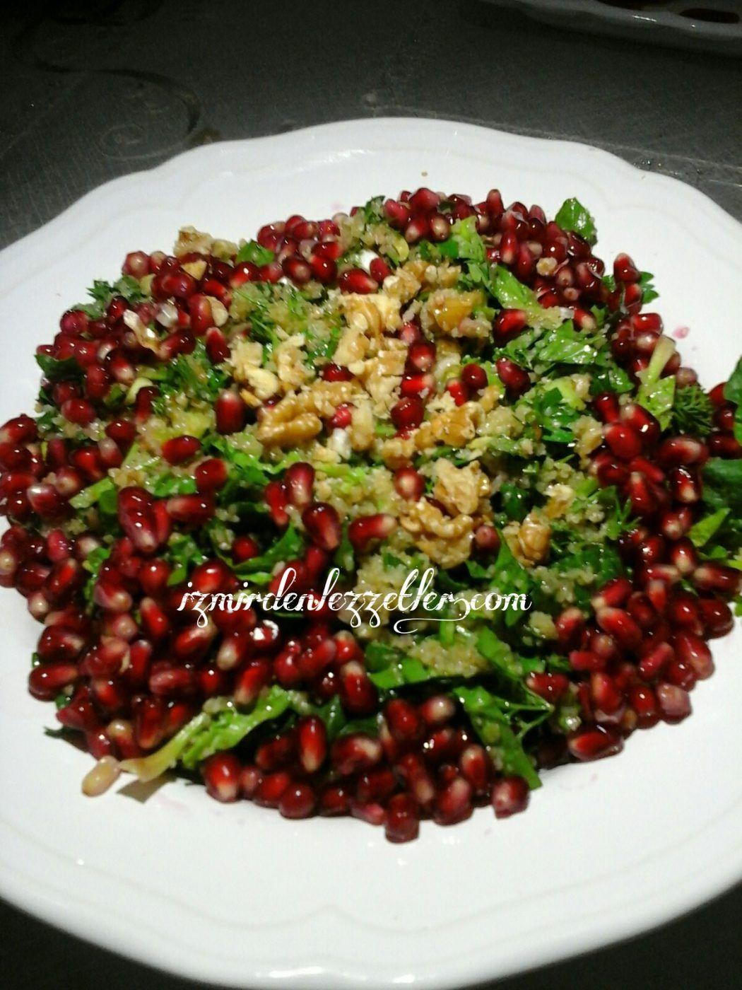 Pirinçli Ve Dereotlu Ispanak Salatası