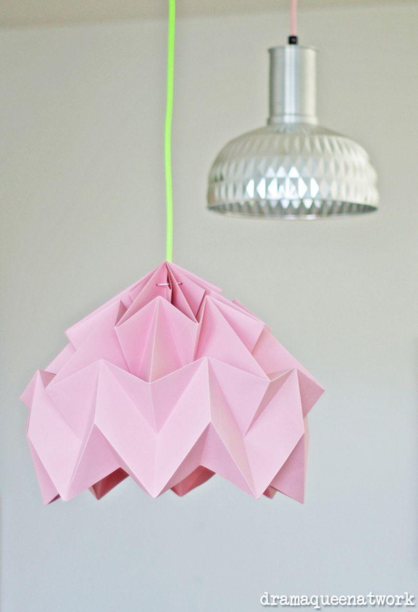 plissee lampen selber machen