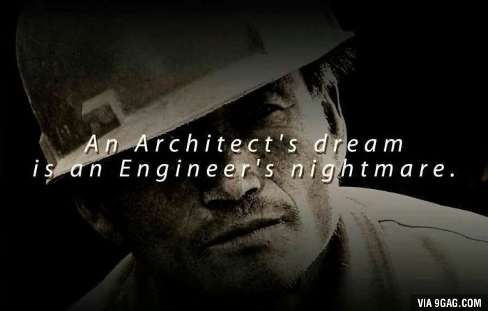 An Architect S Dream Engineering Quotes Engineering Humor Eh Poems Short