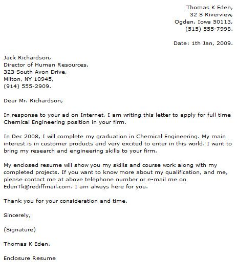 Engineer Cover Letter Examples Civil Example