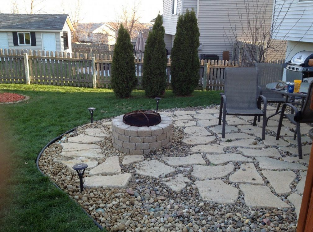 Image Result For Patio Stone With Gravel