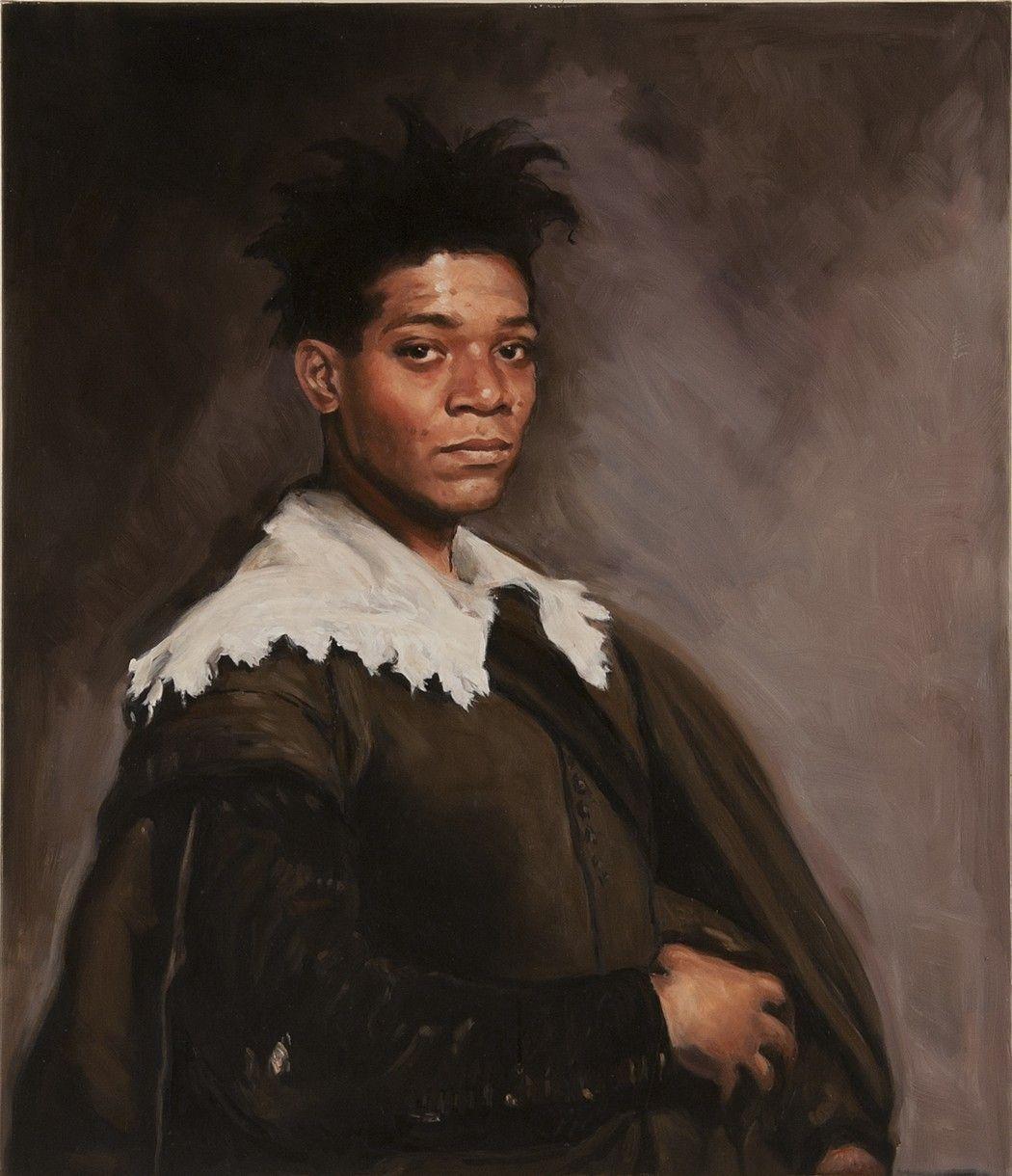 Basquiat portrait