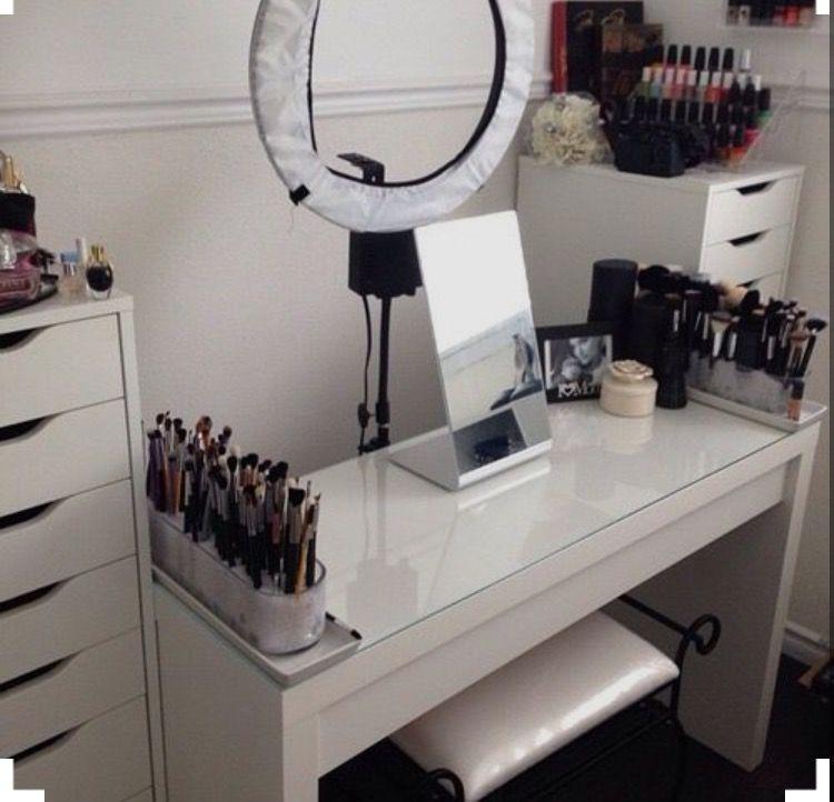 Vanity Setup For Filming Beauty Room Makeup Rooms Glam Room