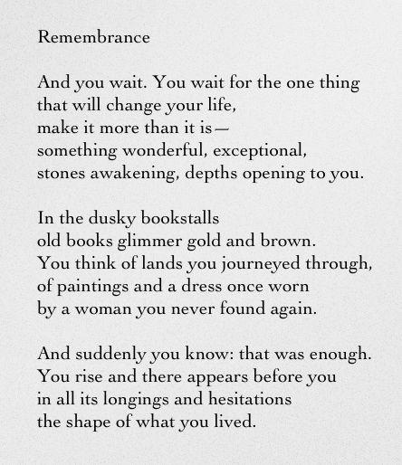 Poet Ponderings Poetry Quotes Haiku Remembrance Rainer