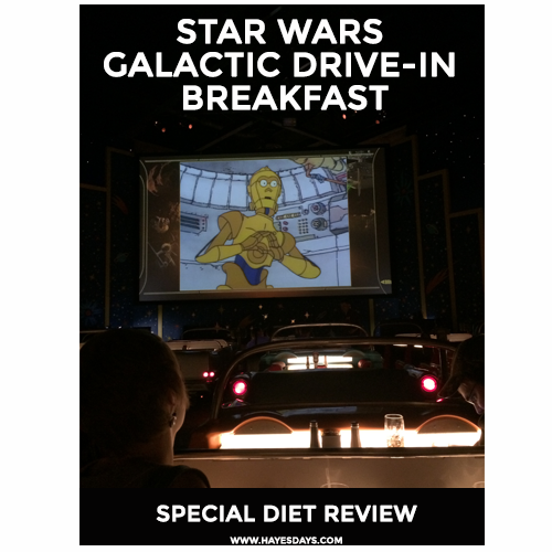 Disney Day: Star Wars Dine-in Galactic Breakfast Special Diet Review