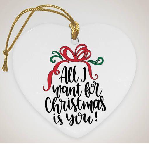 Custom All I Want For Christmas Is You Vinyl Decal Vinyl Decals Vinyl Custom