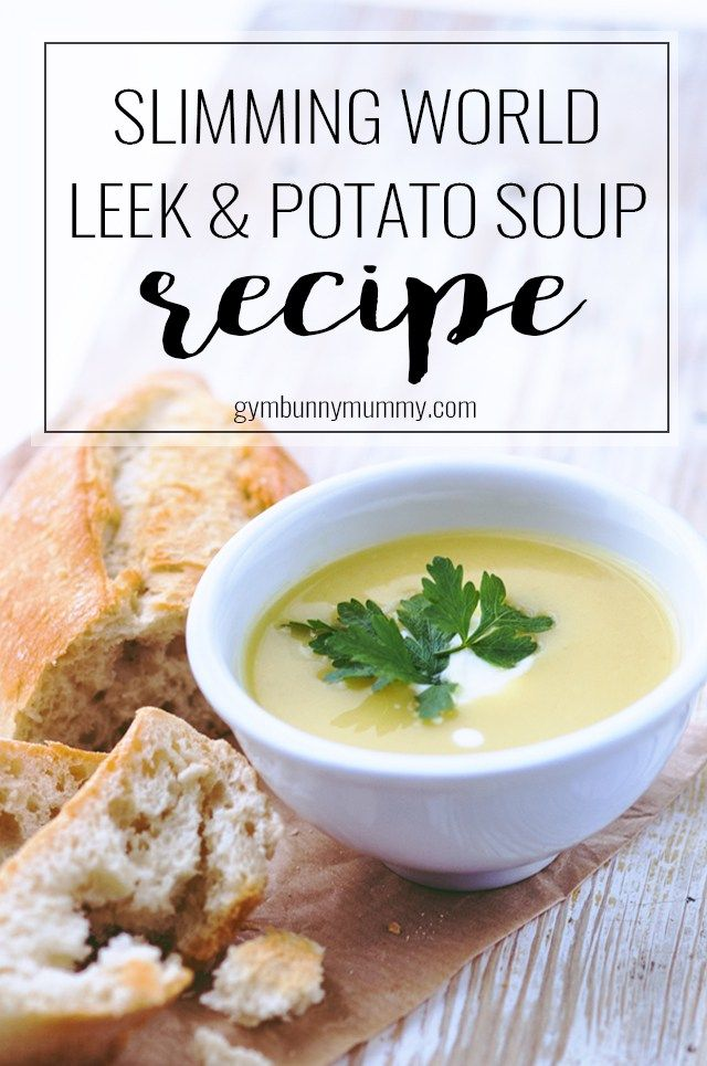 Slimming World Leek Potato Soup Recipe Slimming World