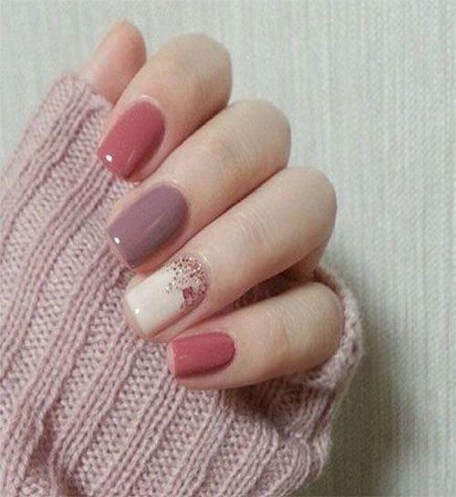 gel nail designs for fall 15 autumn gel nail art designs ideas 2017 ...