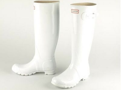 Hunter - Glossy white