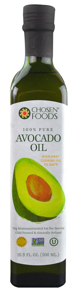 Chosen Foods Avocado Oil 16 9 Fl Oz Chosen Foods Avocado Oil Cooking High Heat Cooking Oil