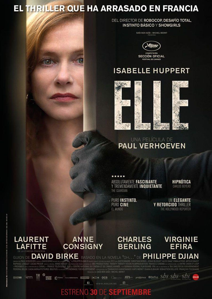 Elle De Paul Verhoeven 2016 Peliculas En Cartelera Peliculas Cine