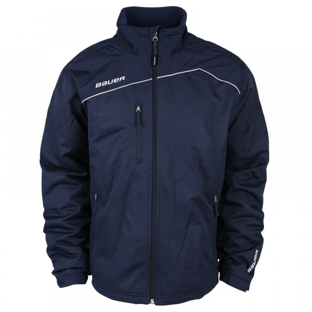 Bauer Midweight Sr Warm Up Jacket Jackets Warmup Jacket Hockey Clothes