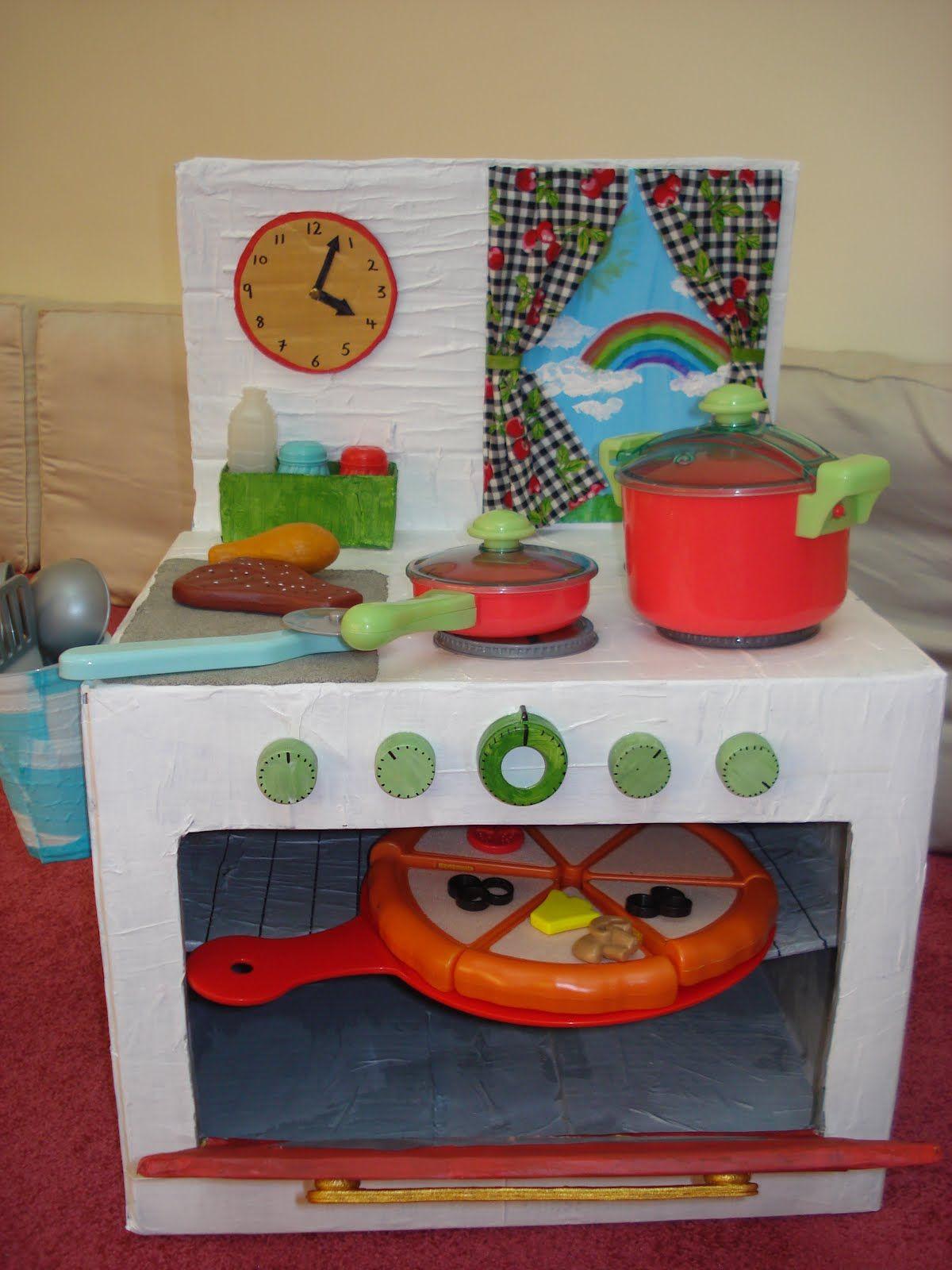 ideen f r kinderk che selber bauen anleitung basteln mit kindern. Black Bedroom Furniture Sets. Home Design Ideas