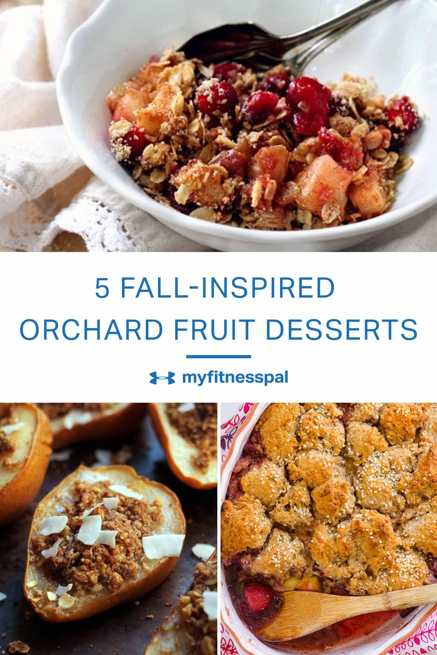 7 FallInspired Orchard Fruit Desserts Under 300 Calories