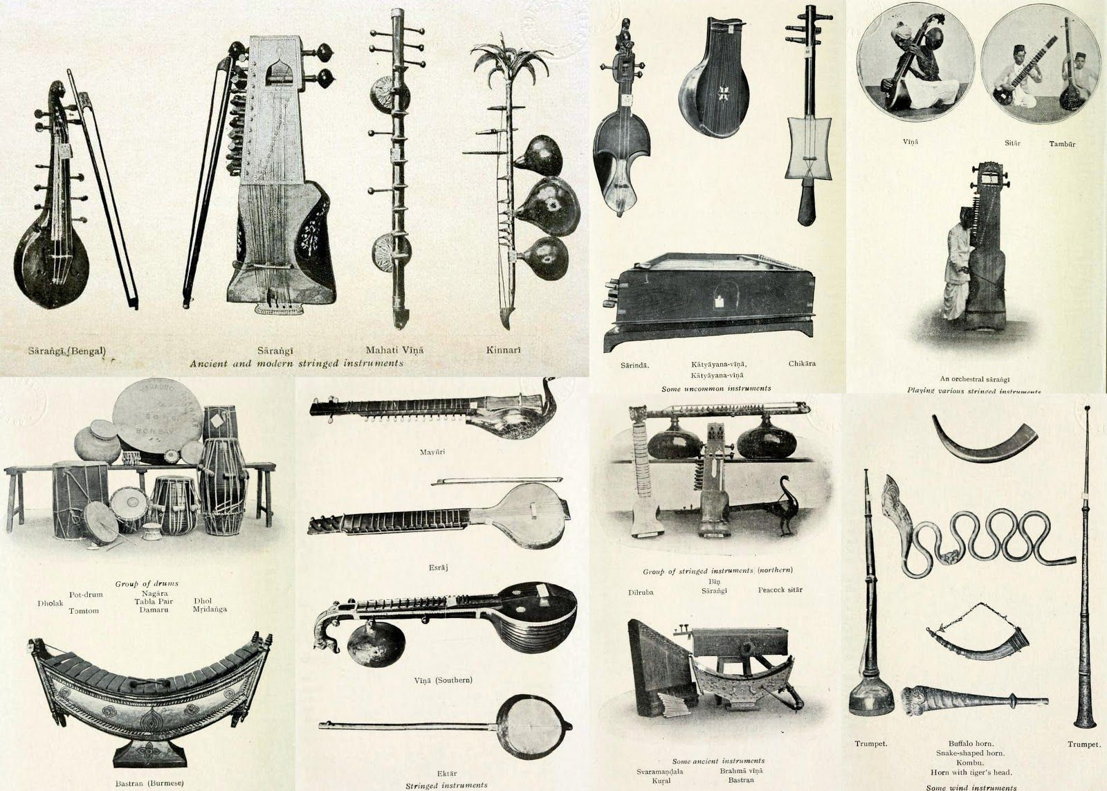 indian folk instruments.