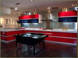 Kitchen How Choose Best Cabinet Manufacturers Amazing Aluminium Cabinets With Red And White Color Combination Mini
