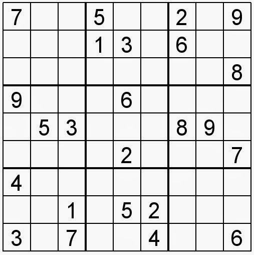 Sudoku154 Jpg 507 508 Sudoku Puzzles Sudoku Counting Worksheets