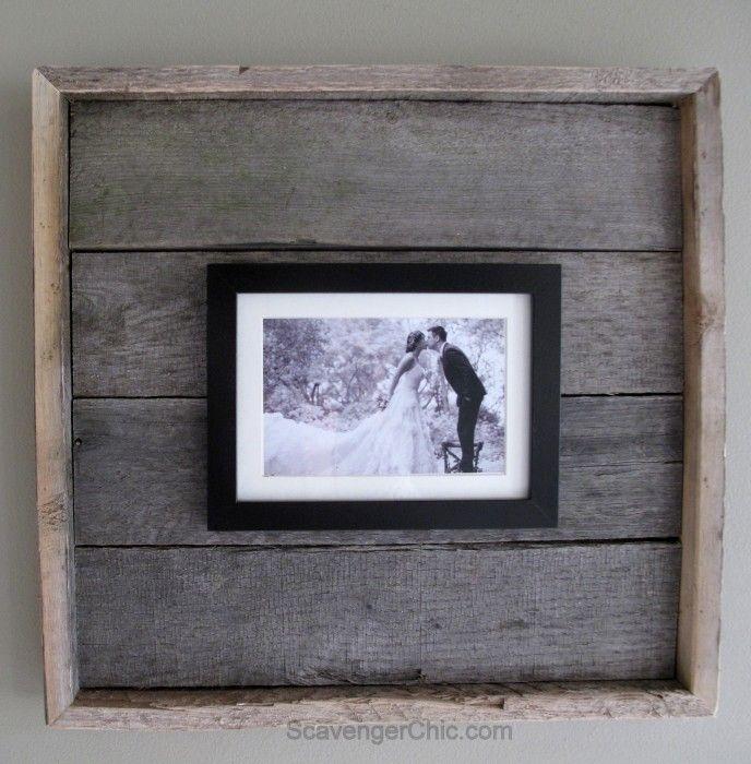 Easy Pallet Wood Frame | Deko