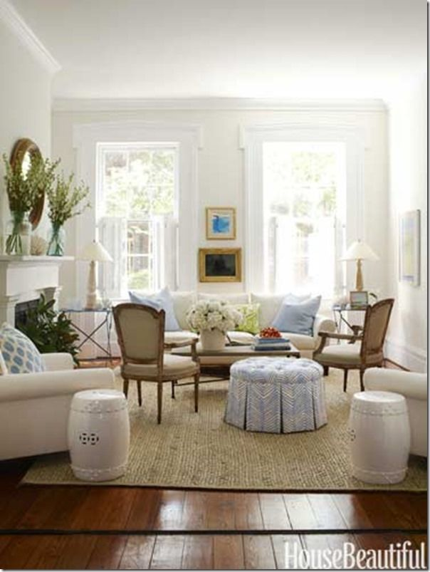 beautiful traditional living rooms. 1 hbx traditional living room white walls 0412  Defining Your Decorating Style Living House
