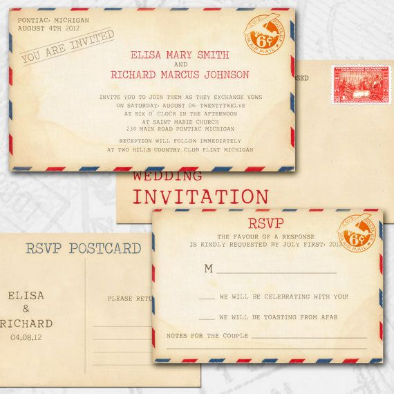 Vintage Wedding Invitations  Wedding Shit    Wedding