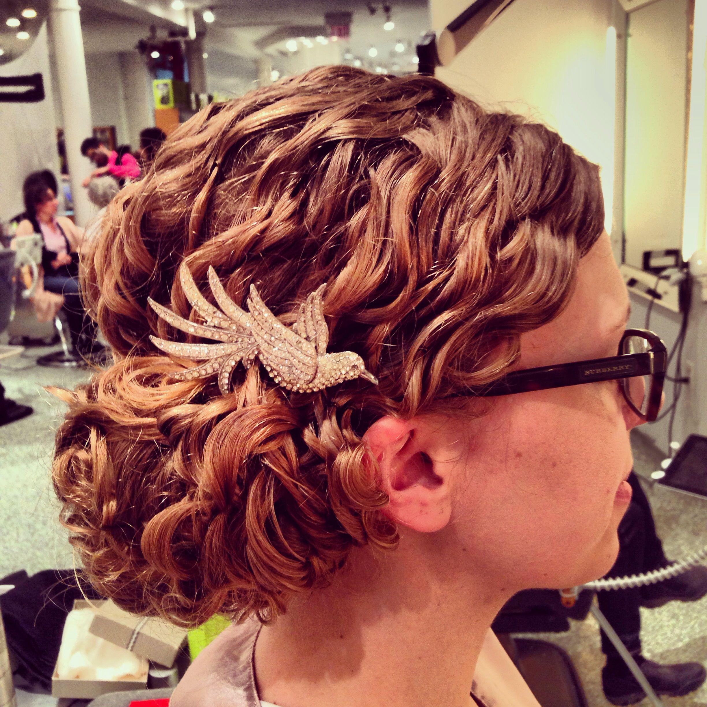 Curly Updo natural mia devachan DeVa CurLs Pinterest