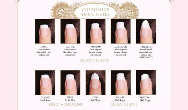 Nail Size Squoval Acrylic Nails Nails Squoval Nails