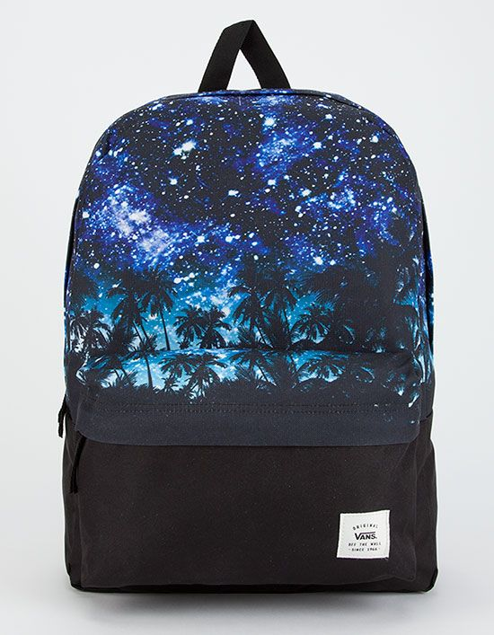 5b8a34b111e9e VANS Palm Night Realm Backpack | Fashion in 2019 | Vans backpack ...