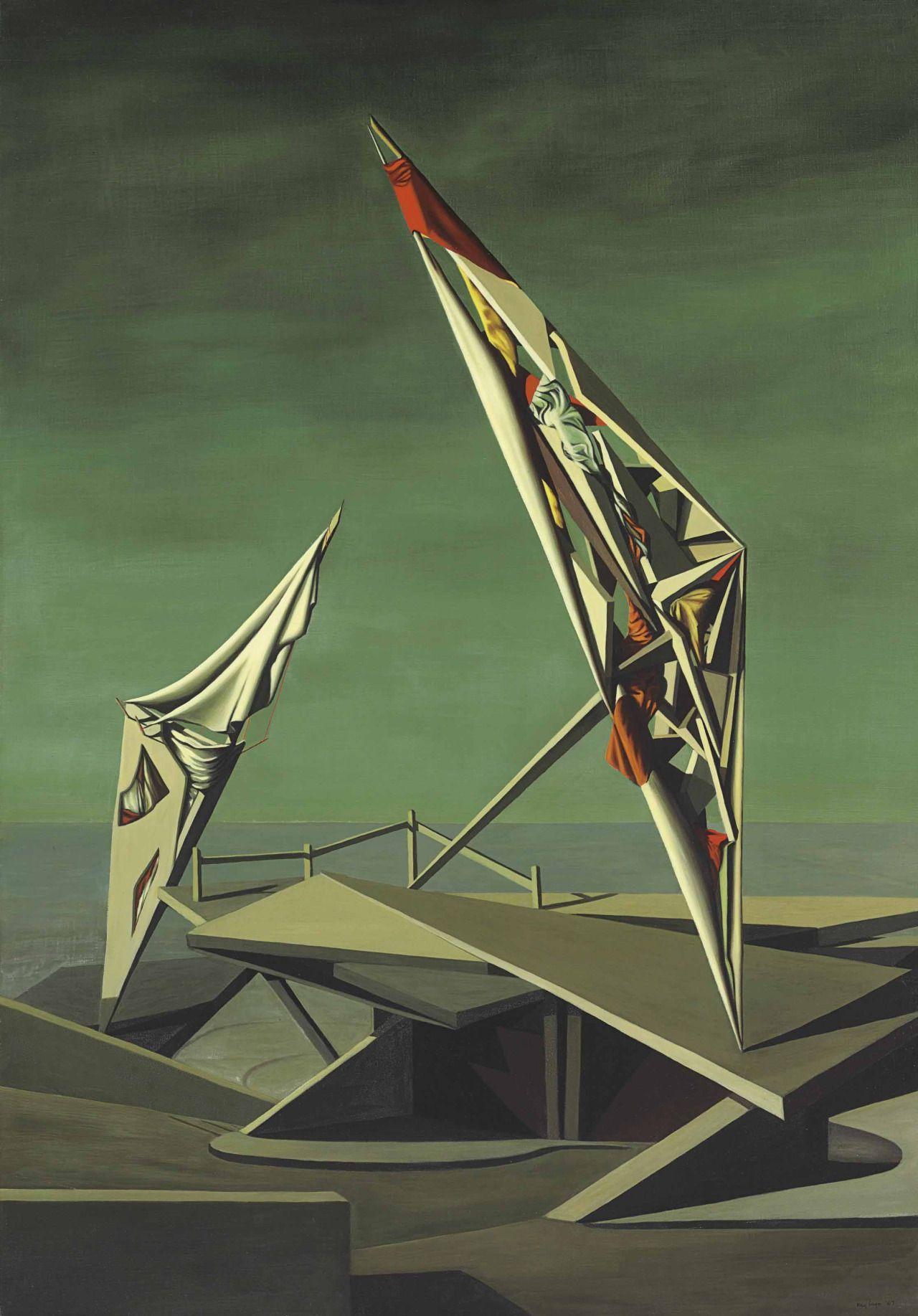 Kay Sage 1898 1963 Peintre Surrealiste Surrealisme Les Arts