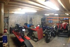 Amenagement De L Atelier Atelier Moto Mobile Pinterest Atelier