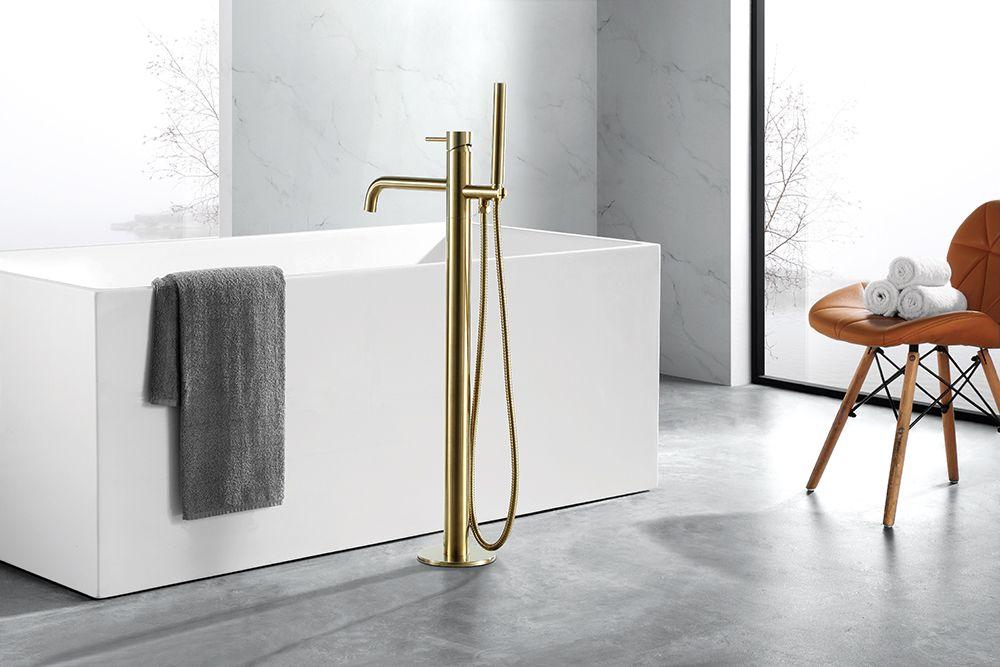 Jtp Vos Floor Mounted Bath Shower Mixer Tap Bath Shower Mixer Taps Bath Shower Mixer Bathroom Trends