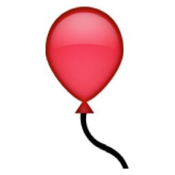 Balloon Emoji U 1F388 E310