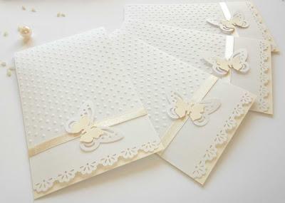 Partecipazioni tema farfalle: inviti di nozze, per comunione, cresima ...