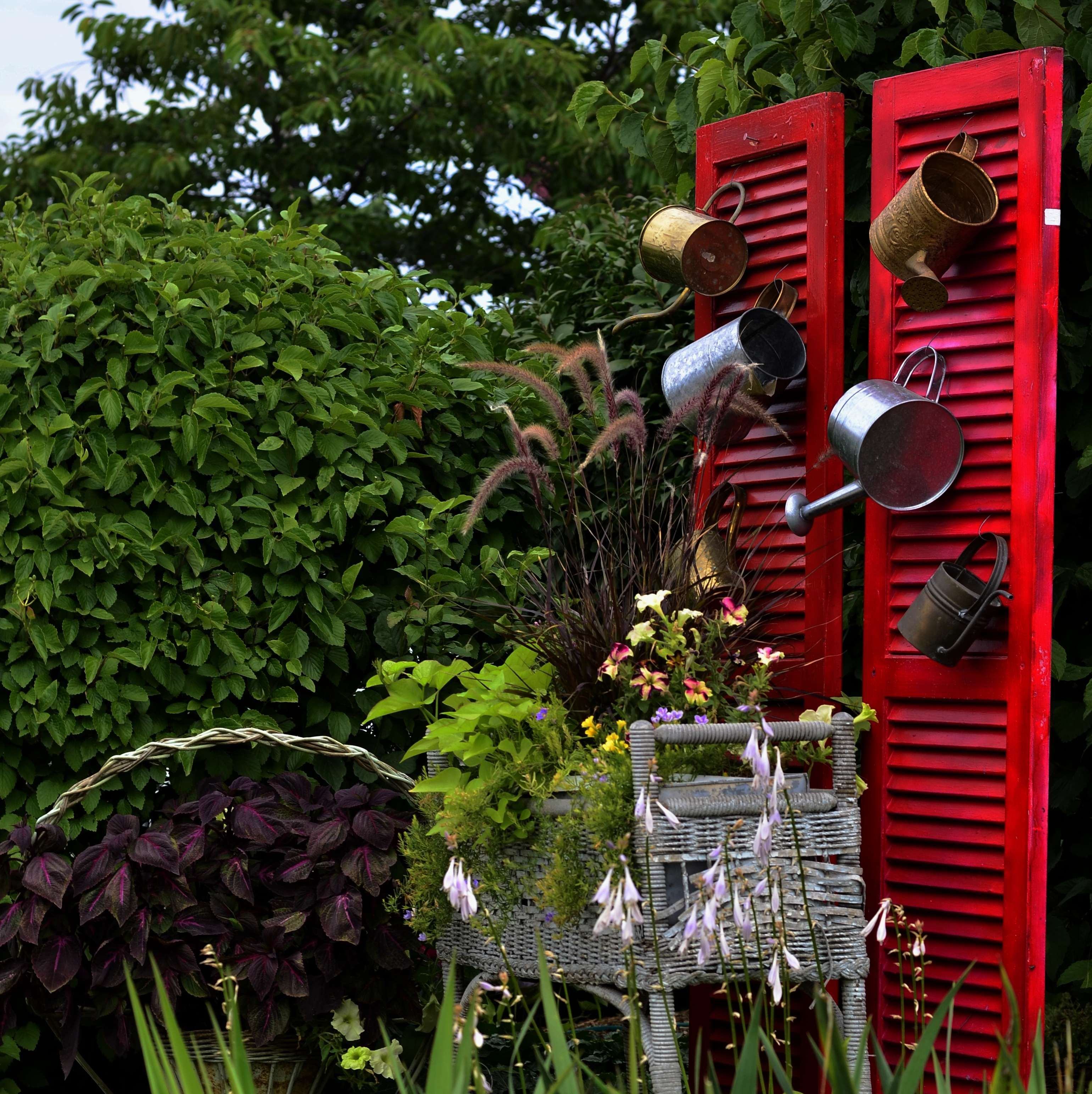 Another colorful garden idea from the 2013 elkhart county