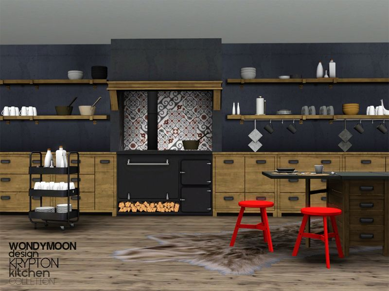 Großartig Krypton Kitchen Found In TSR Category U0027Sims 3 Downloadsu0027