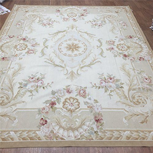 Camel Carpet Wool French Aubusson Hand Woven Rug 8'x10' C... https://www.amazon.com/dp/B01HHPLGG2/ref=cm_sw_r_pi_dp_fZ2Cxb87TNG5E