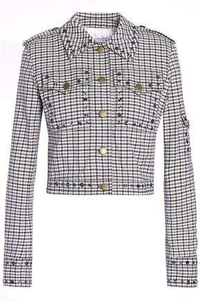 a89c446a8ef Sonia Rykiel Studded Checked Jacquard Jacket in 2019 | Products ...