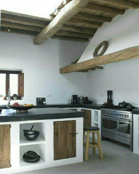 cocina cocina pinterest haus haus k chen und gemauerte k che. Black Bedroom Furniture Sets. Home Design Ideas