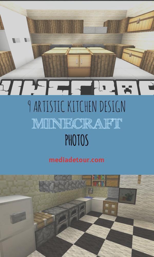 9 Artistic Kitchen Design Minecraft Photos in 2020 ...