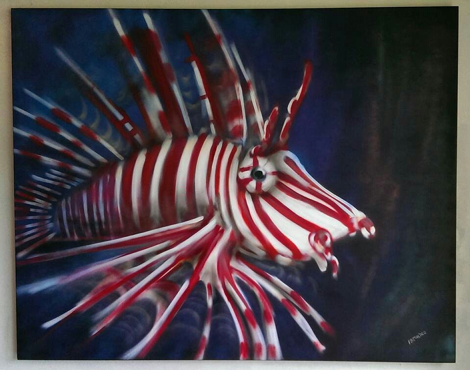 Peppermint candy fish
