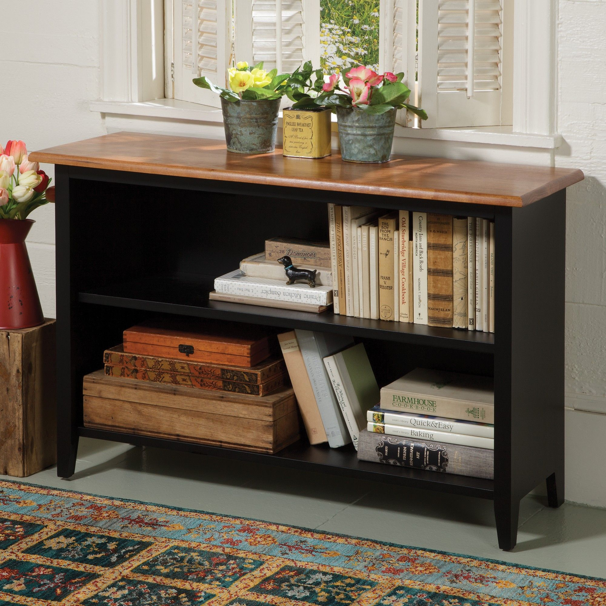 Shaker Low Bookcase | Made In Maine Shaker Furniture | Sturbridge Yankee  Workshop